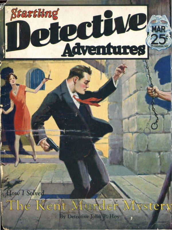 Startling Detective Mysteries March 1930