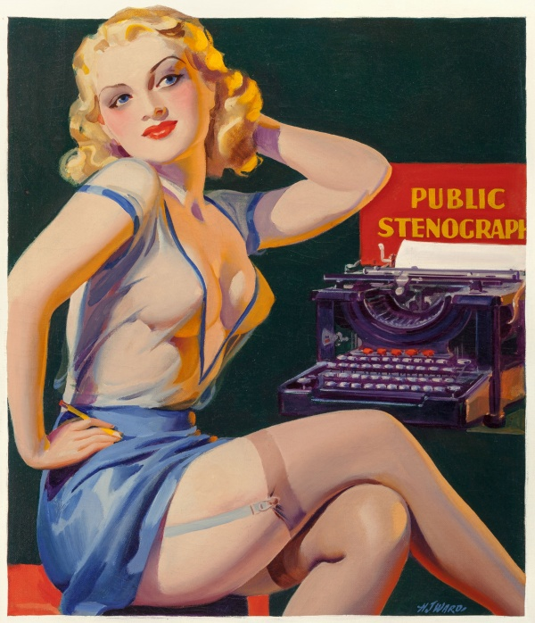 Tattle Tales pulp magazine cover, Winter 1937