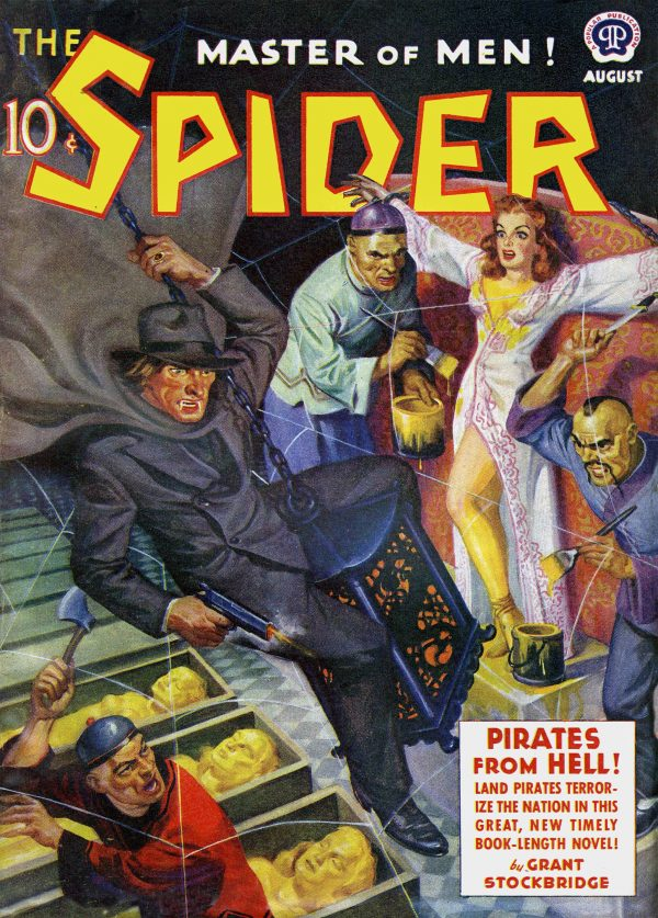 The Spider - August 1940