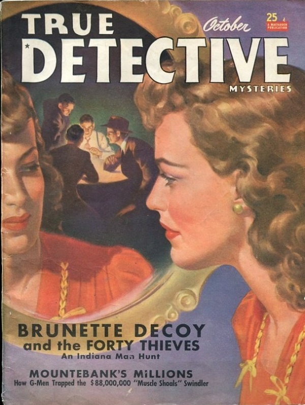 True Detective Mysteries October 1940