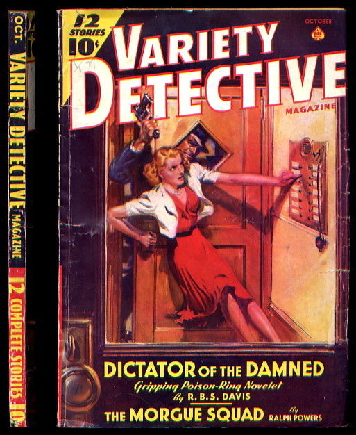 Variety Detective October 1939
