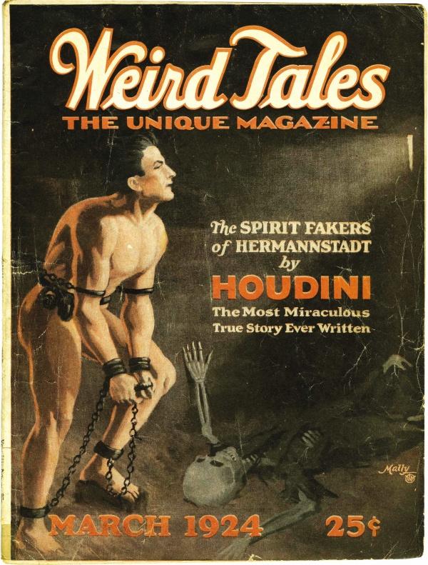 Weird Tales March 1924