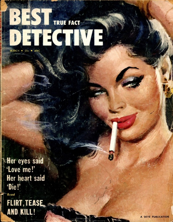 Best True Fact Detective March 1955