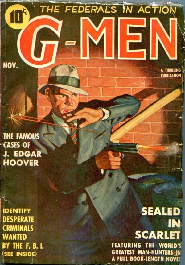 G-Men November 1937
