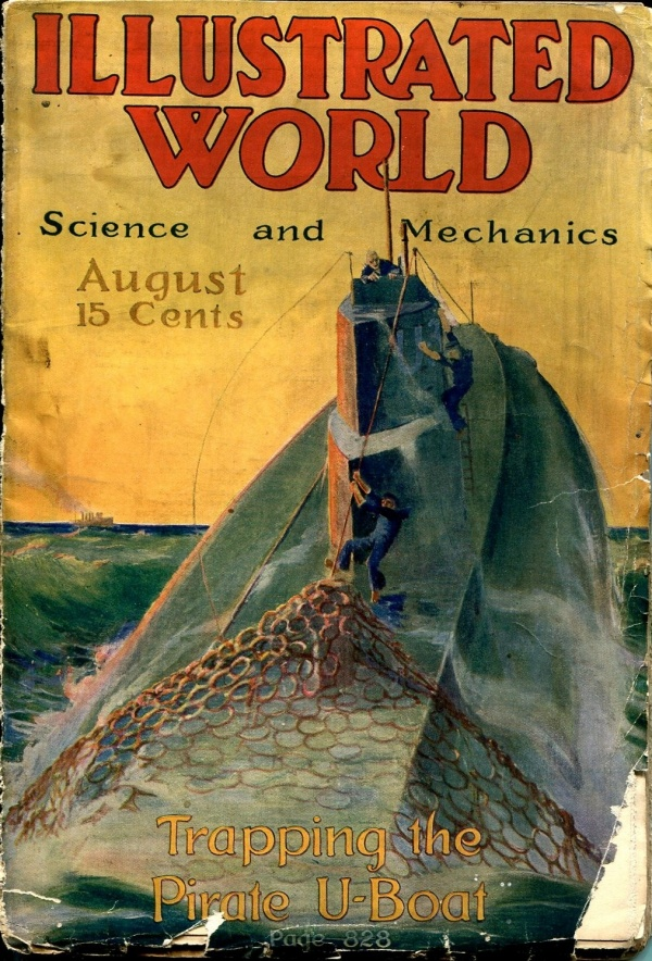 Illustrated World August 1917
