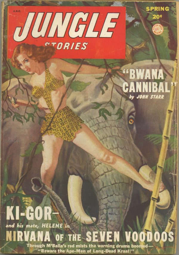 Jungle Stories Spring 1949