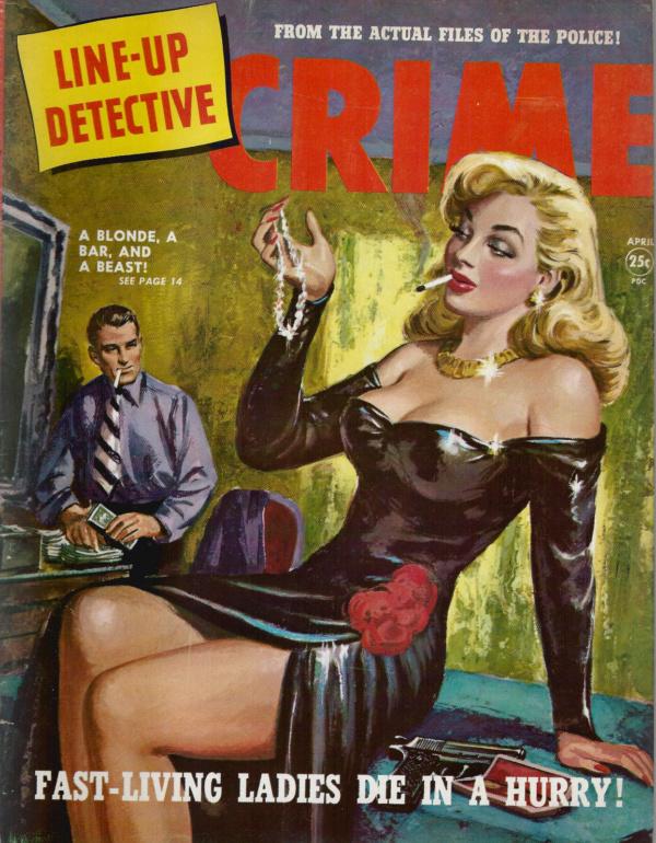 Line Up Detective April 1951