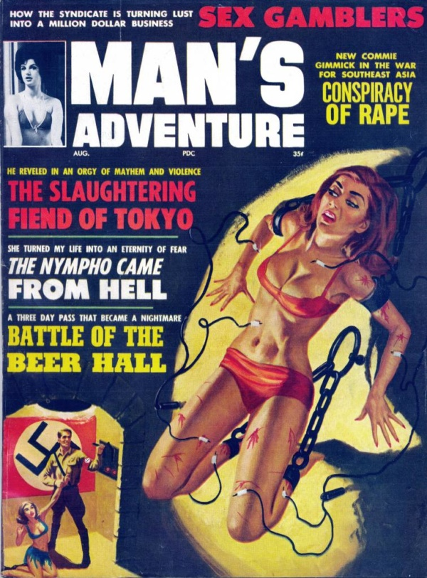Man's Adventure Aug 1964