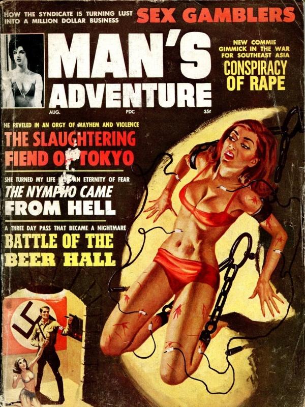 Man's Adventure August 1964