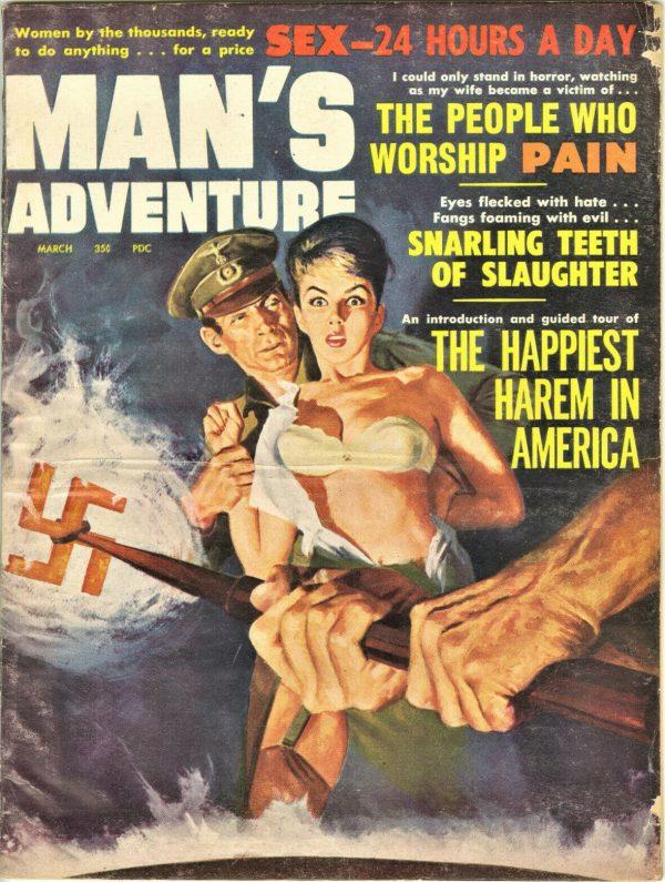Man's Adventure Magazine March 1963
