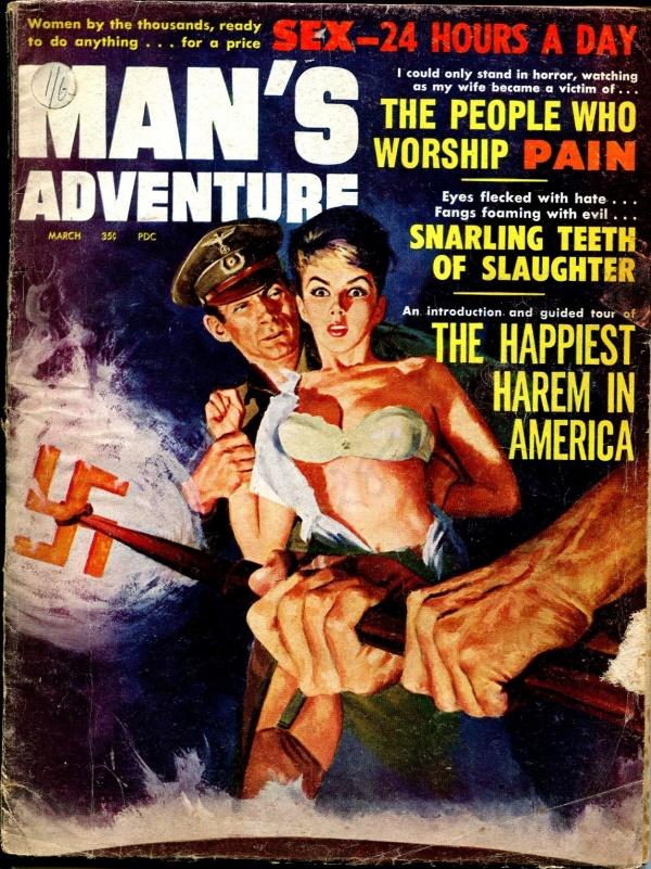 Man's Adventure March 1963