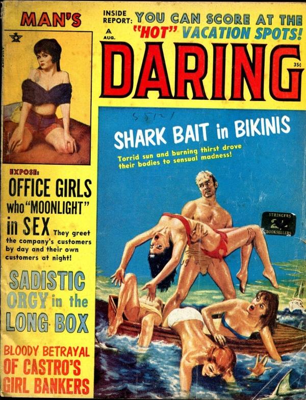 Man's Daring August 1964