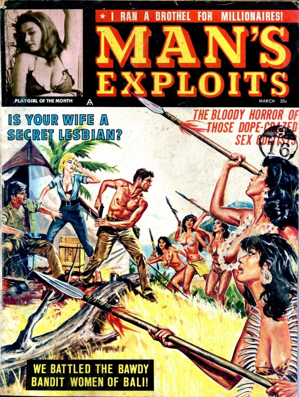 Man's Exploits March 1964