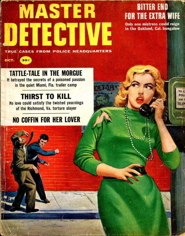 Master Detective October 1958