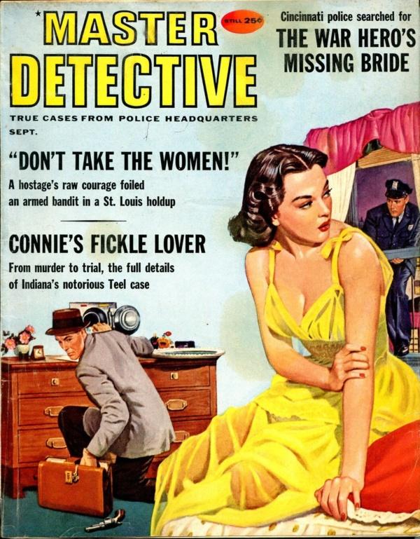Master Detective September 1959
