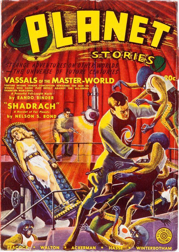 Planet Stories Magazine, Fall 1941