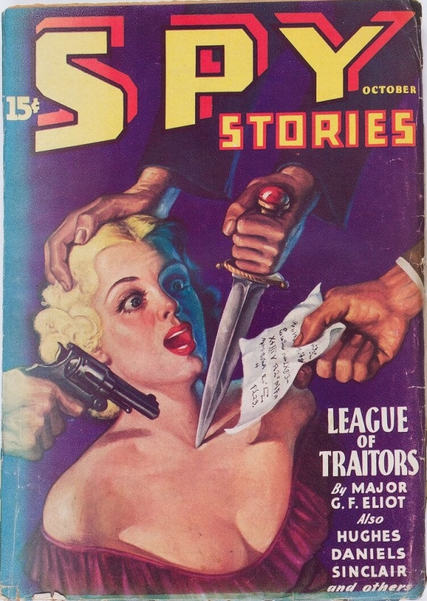 Spy Stories - October 1935