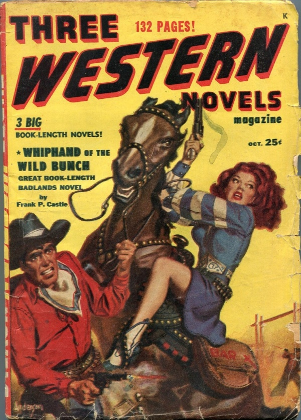 Three Western Novels October 1949