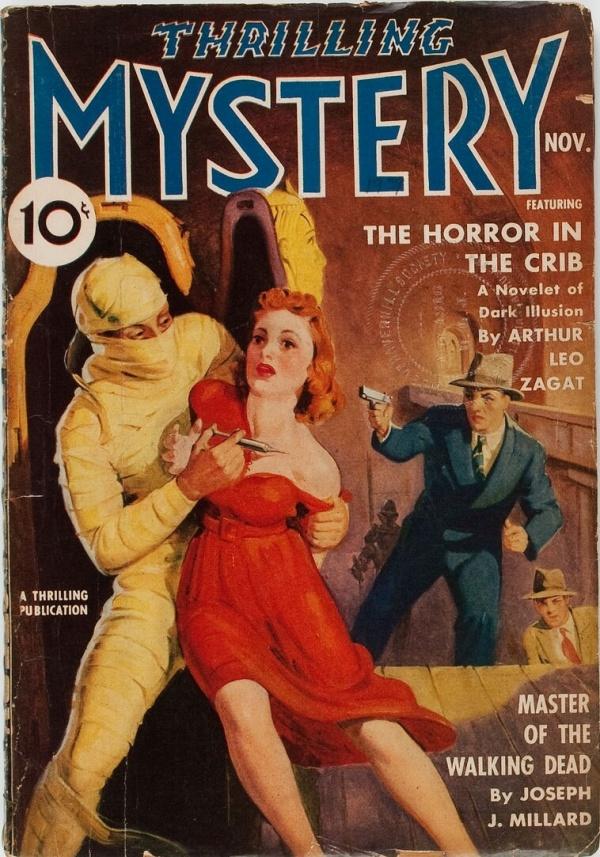 Thrilling Mystery - November 1939