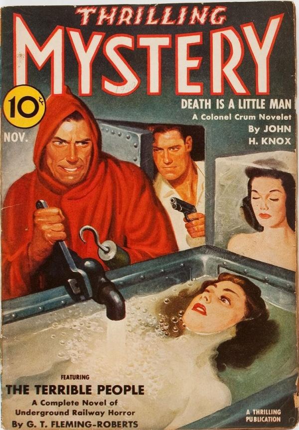 Thrilling Mystery - November 1940