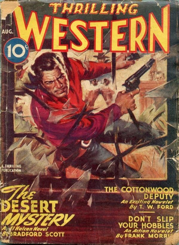 Thrilling Western August 1946