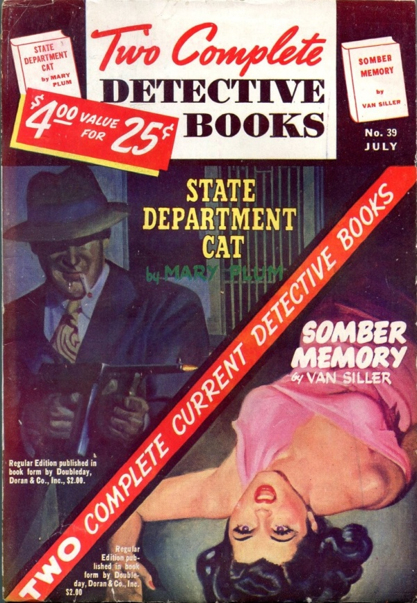 Two Complete Detective Books July 1946