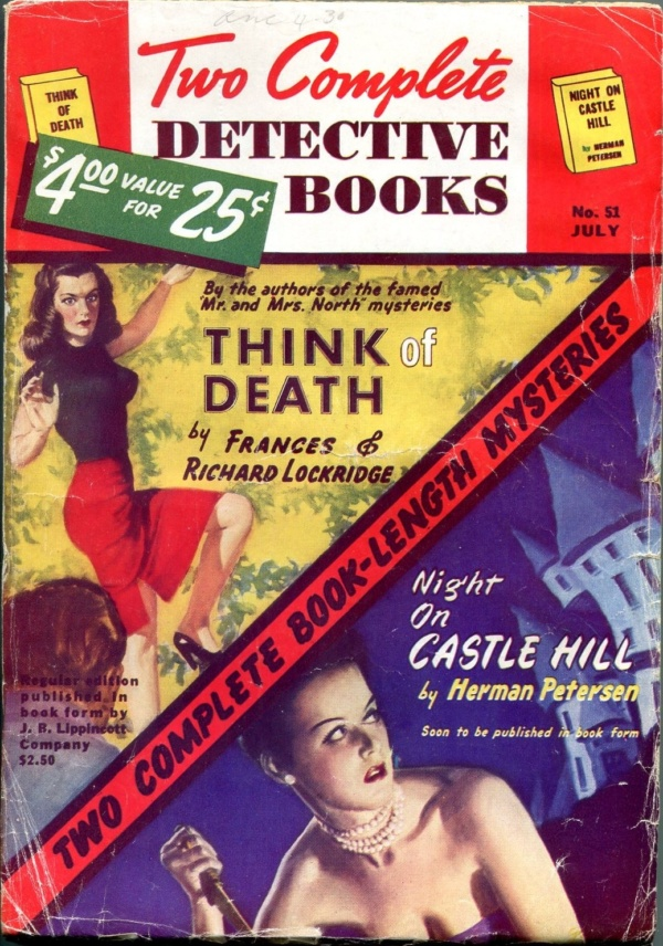 Two Complete Detective Books July 1948
