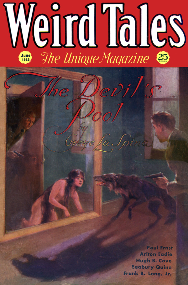 Weird Tales, June 1932