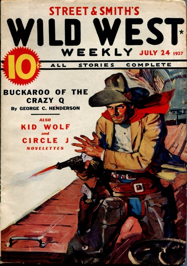 Wild West Weekly July 24  1937