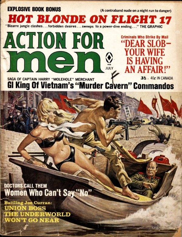 Action For Men July 1967