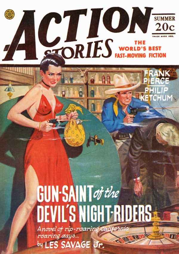 Action Stories Summer 1946