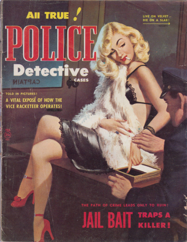 All True Police Detective Cases - Feb-Mar 1951