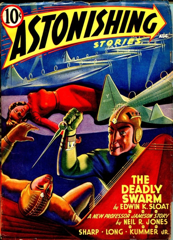 Astonishing Stories August 1940