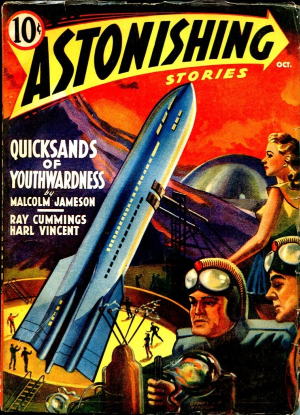 Astonishing Stories Issue October 1940