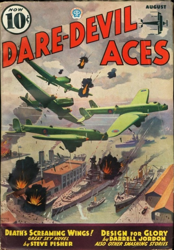 Dare-Devil Aces August 1936