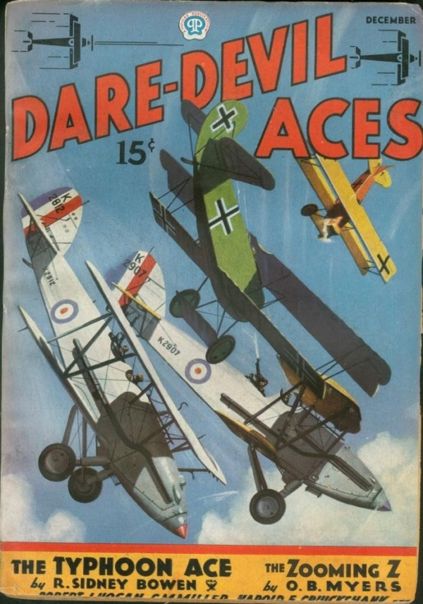 Dare-Devil Aces December 1935