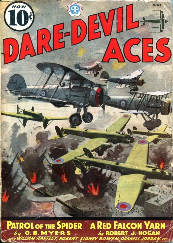 Dare-Devil Aces June 1937