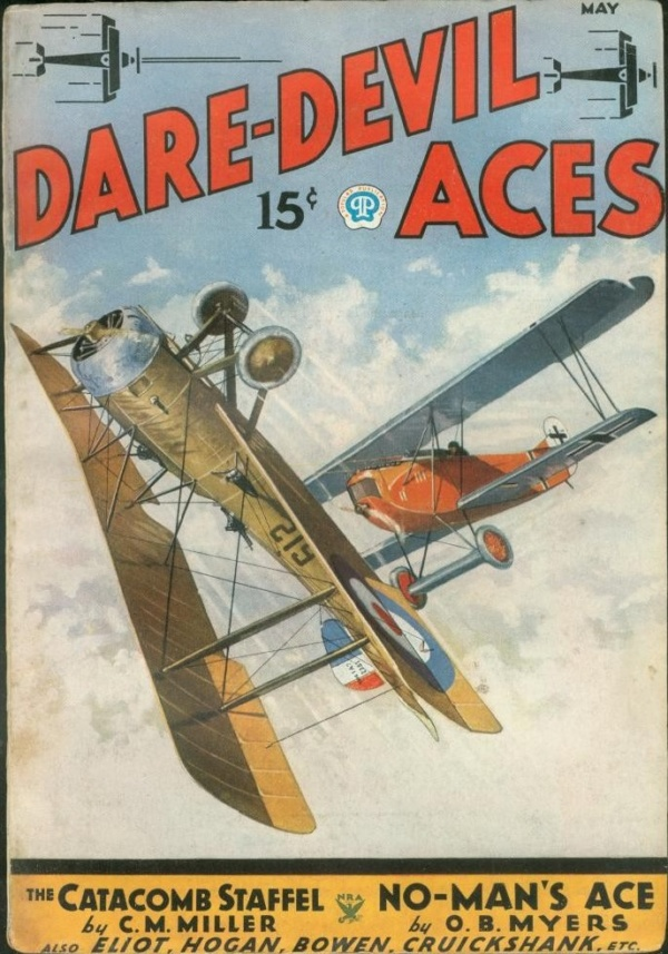 Dare-Devil Aces May 1935