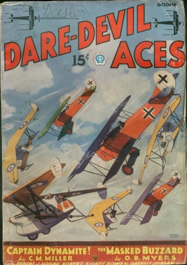 Dare-Devil Aces October 1935