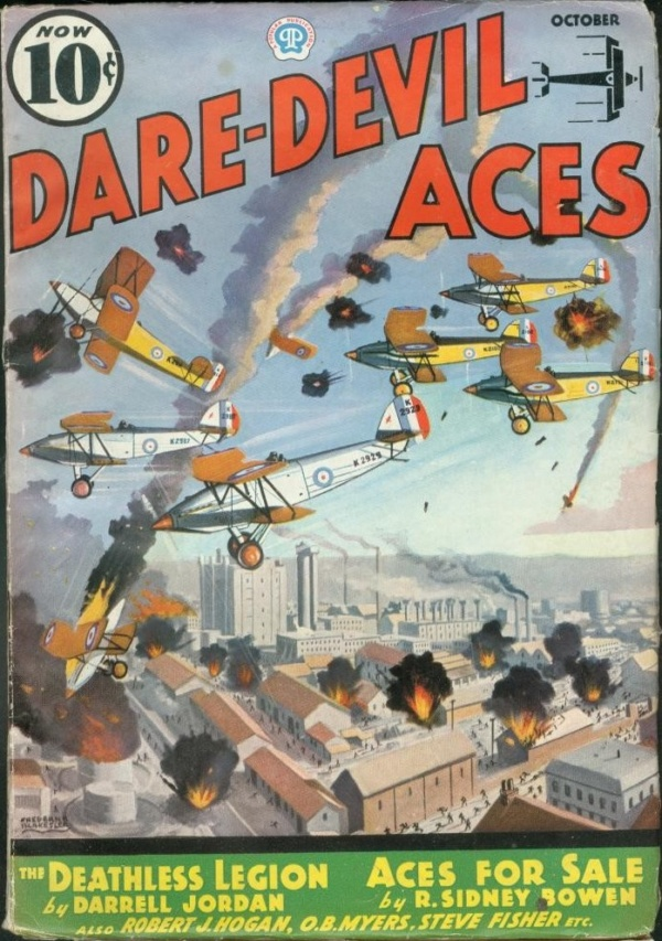 Dare-Devil Aces October 1936