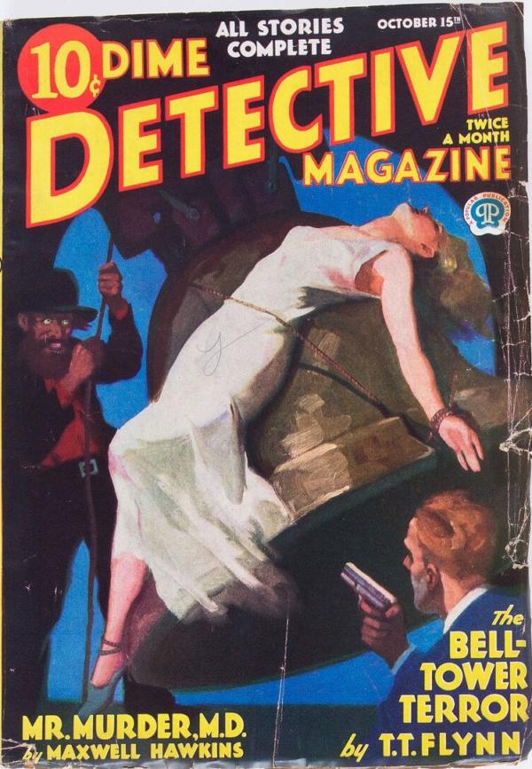 Dime Detective Magazine - October 15, 1933
