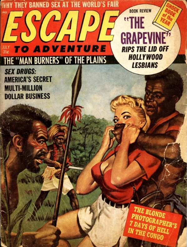 Escape To Adventure July 1964