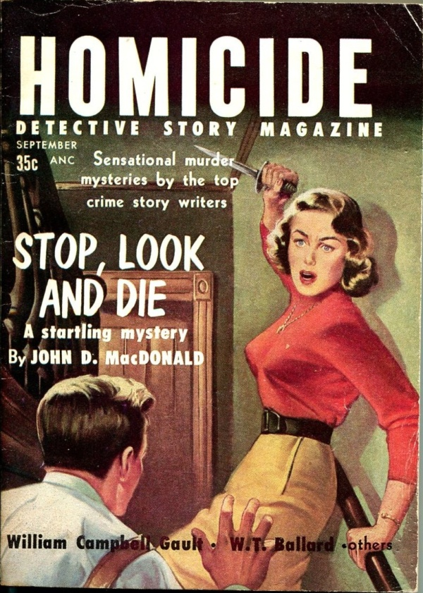 Homicide Detecive Story Issue #1    September 1956