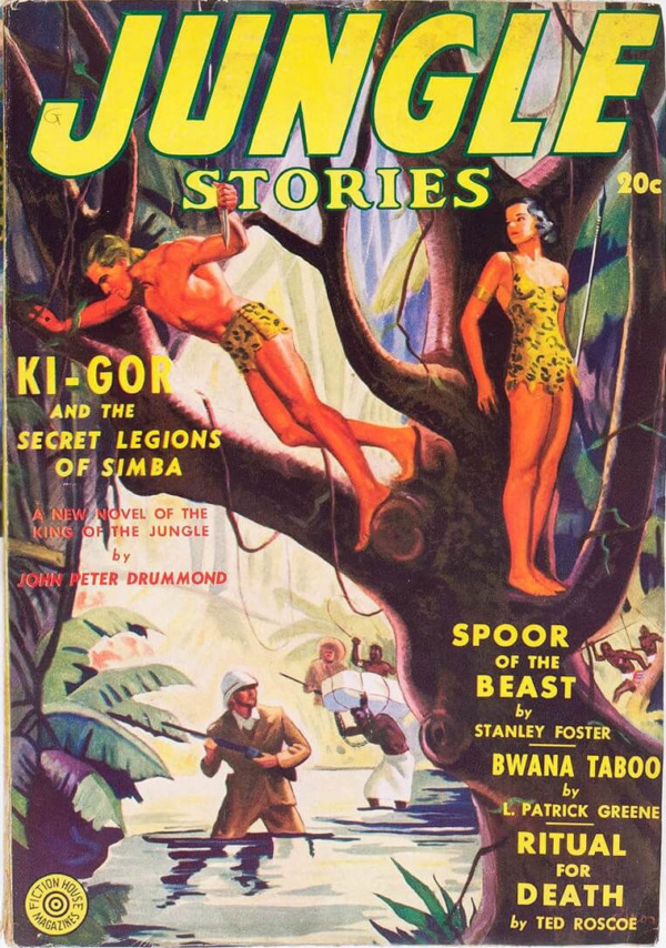 Jungle Stories Winter 1939