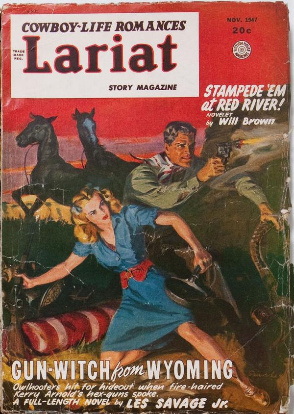 Lariat Story Magazine November 1947