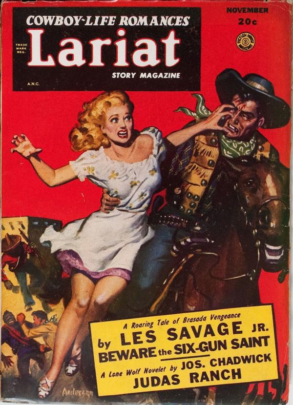 Lariat Story Magazine November 1948