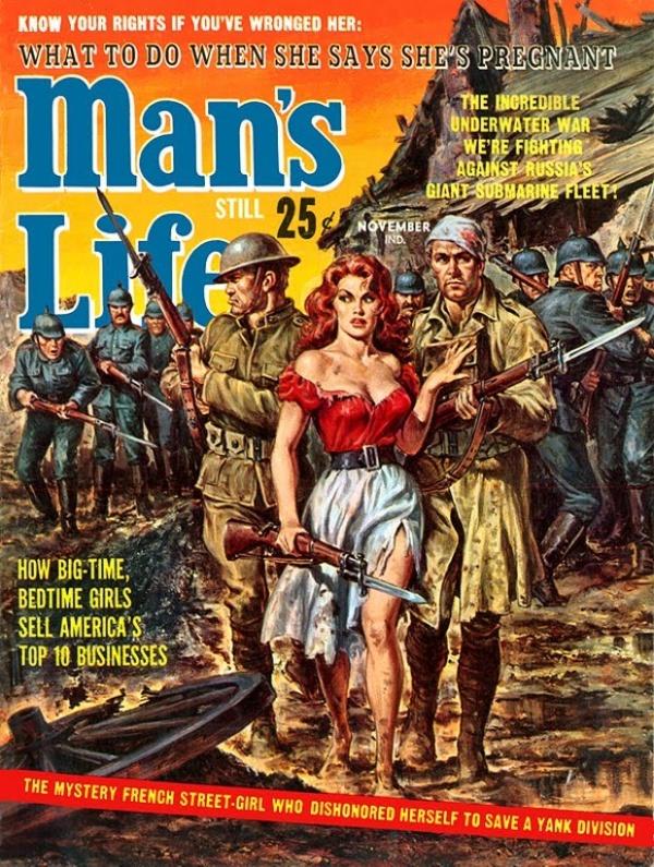 Man's Life November 1962
