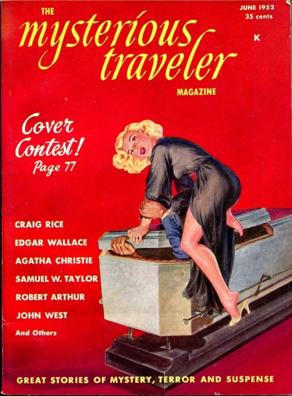 Mysterious Traveler Issue #4 June 1952