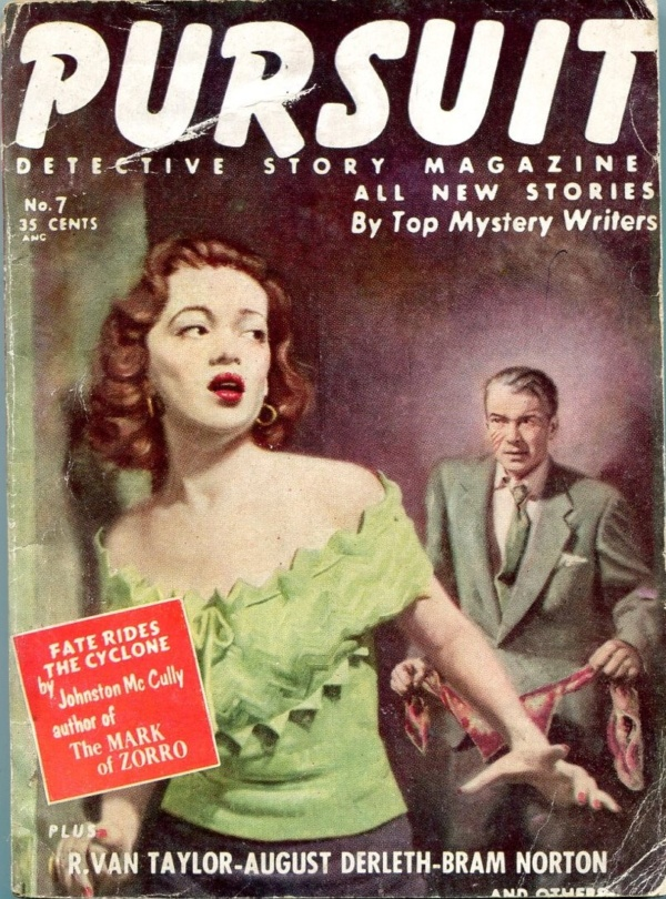 Pursuit Detective Story January 1955