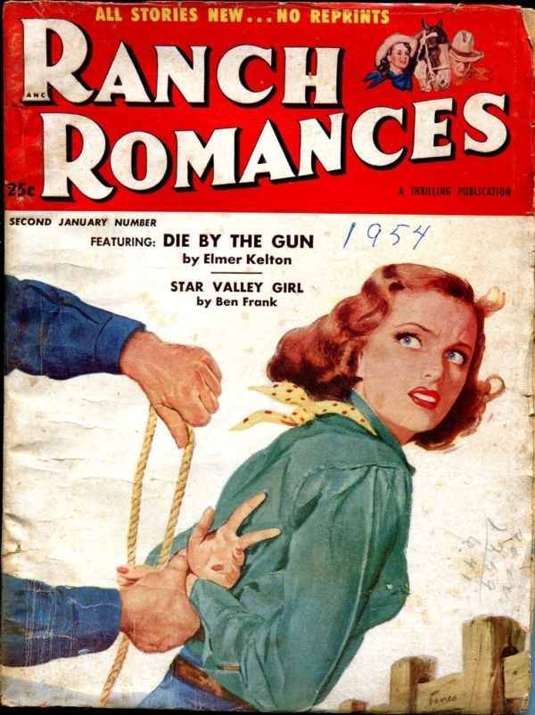 Ranch Romances Issue #2 January 1954